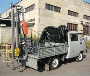 Буровая машина УБШМ – 1 -13
